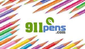911 logo with pencil
